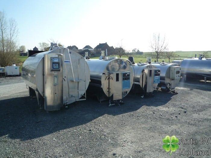 Several tanks