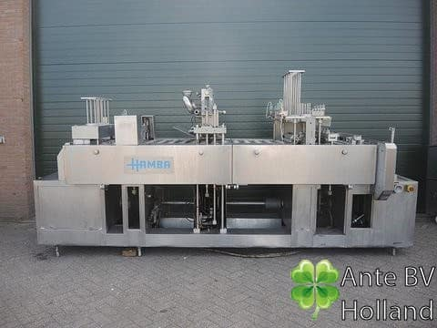 Filling and sealmachine