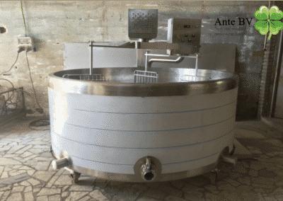 Nr 28a - Process tank semi hard cheese 500L